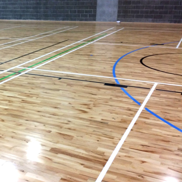 court painting and lining