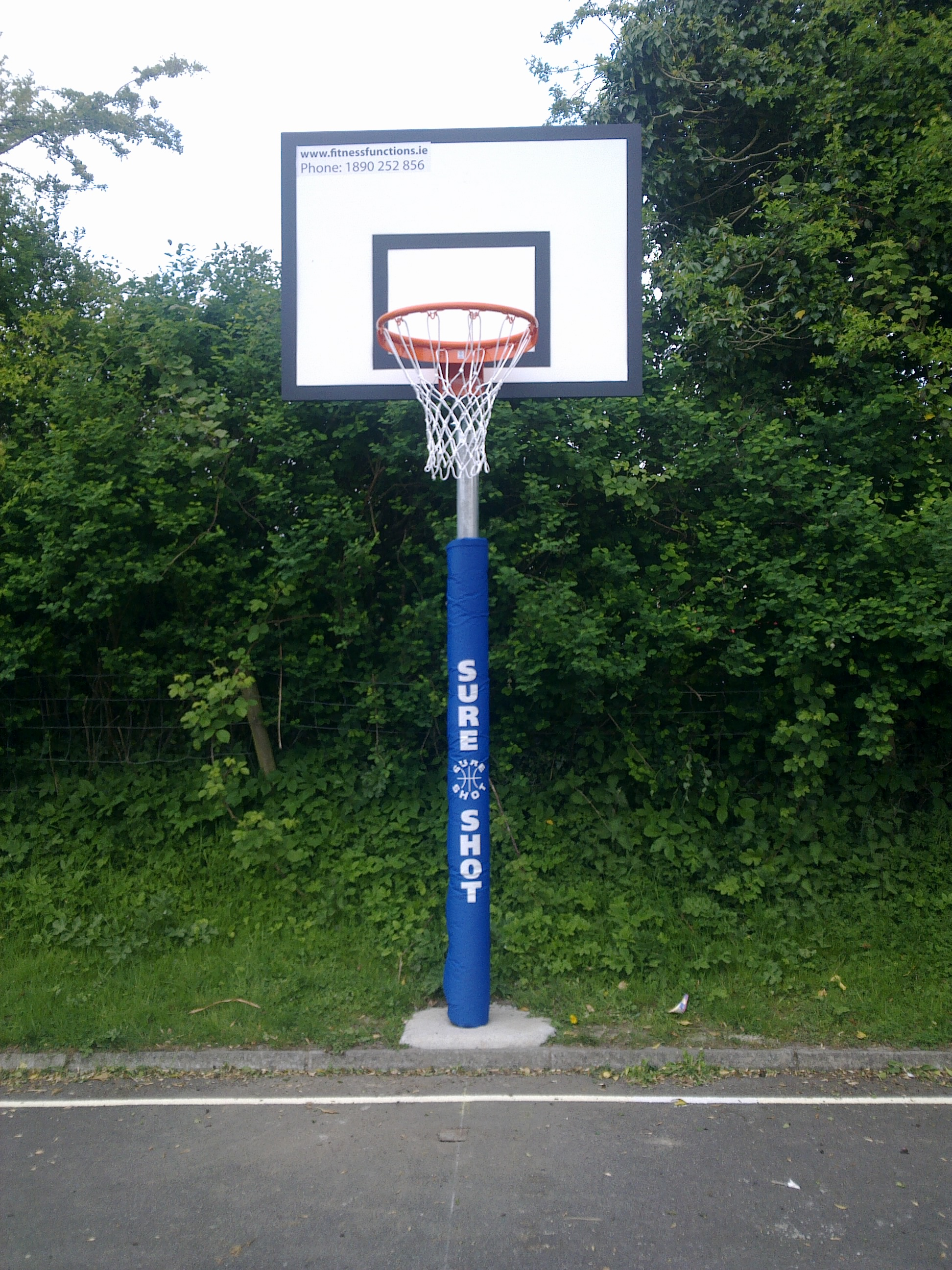 outdoor basketball goals fitness functions